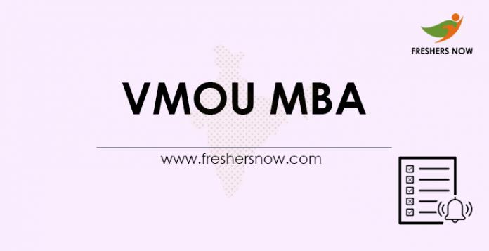 VMOU MBA 2021