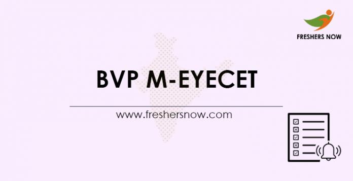 BVP M-EYECET 2021
