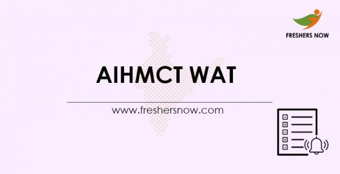 AIHMCT-WAT