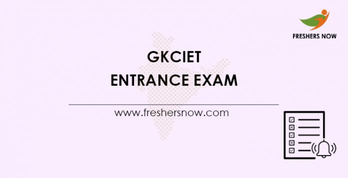 GKCIET-Entrance-Exam