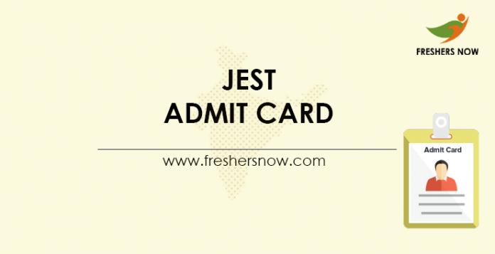 JEST-Admit-Card