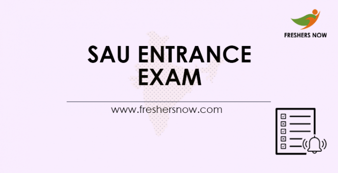 SAU-Entrance-Exam