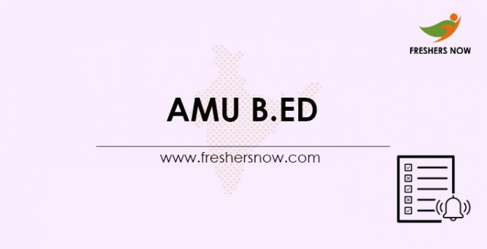 AMU-B.Ed