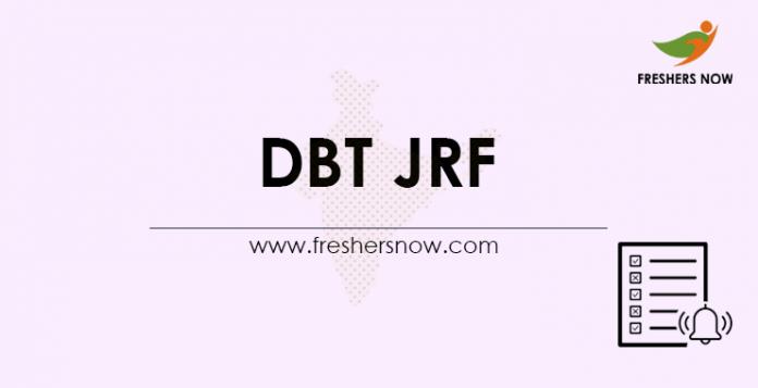 DBT-JRF