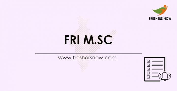 FRI-M.Sc