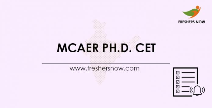 MCAER-Ph.D.-CET