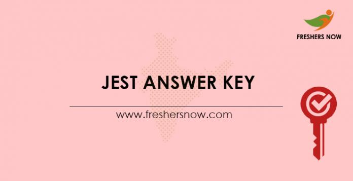 JEST-Answer-Key