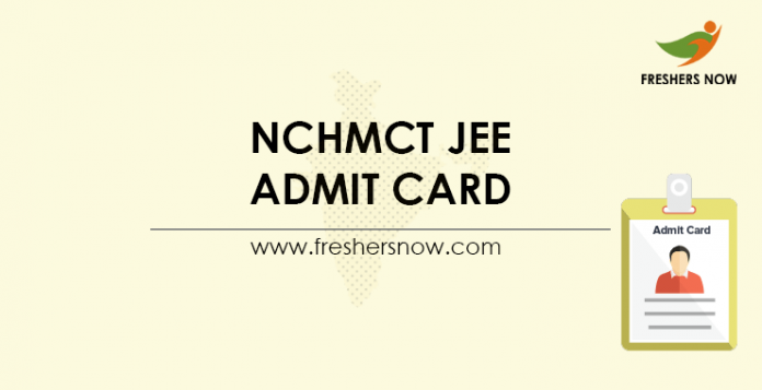 NCHMCT-JEE-Admit-Card