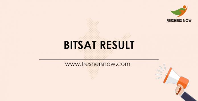 BITSAT-Result