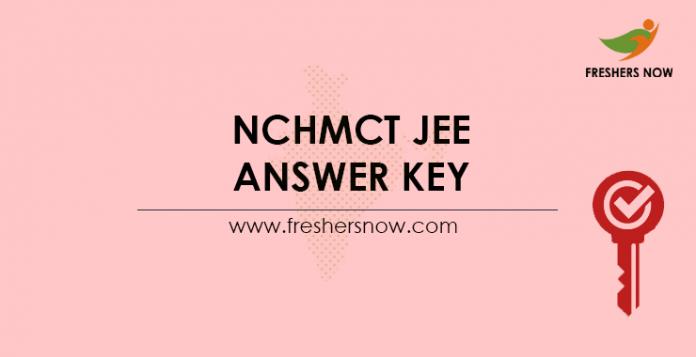 NCHMCT-JEE-Answer-Key