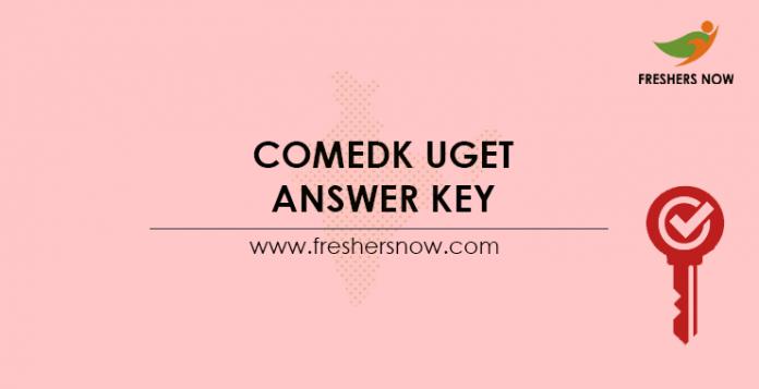 COMEDK-UGET-Answer-Key