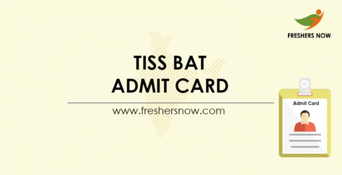 TISS-BAT-Admit-Card