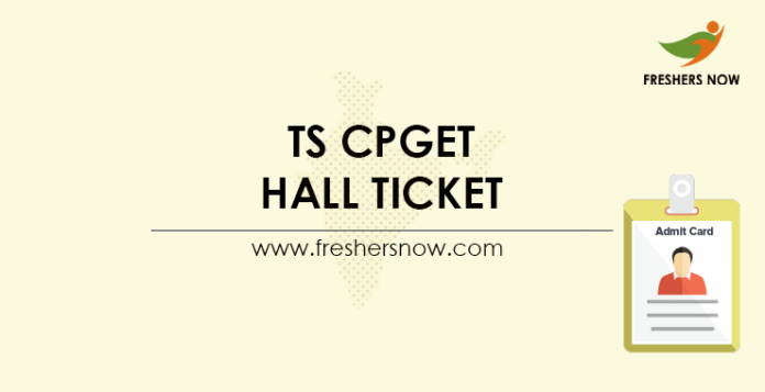 TS-CPGET-Hall-Ticket