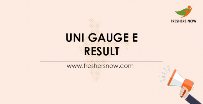 Uni-GAUGE-E-Result