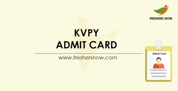 KVPY-Admit-Card